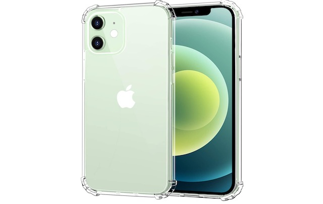 5. MoKo Anti-Yellow Clear Case