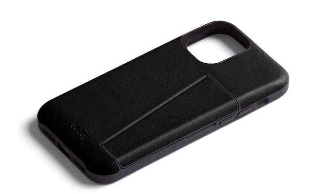 6. Bellroy iPhone 12 Pro Leather Case with Card Holder