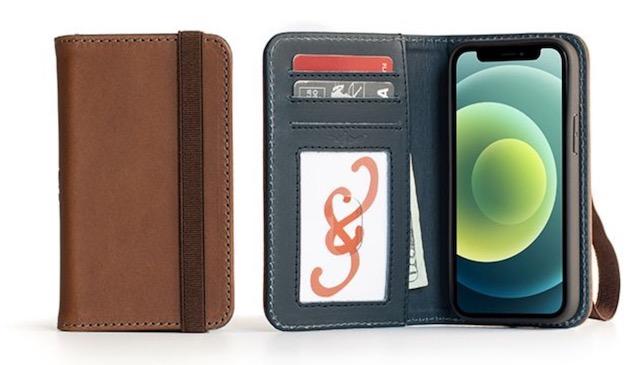 7. Bella Fino iPhone 12 Mini Wallet Case