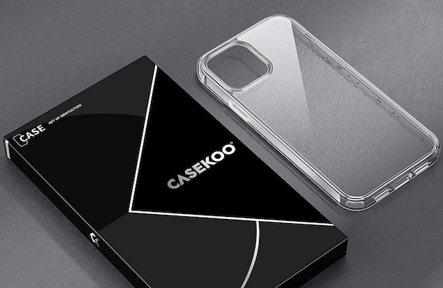 8. CASEKOO Crystal Clear Case