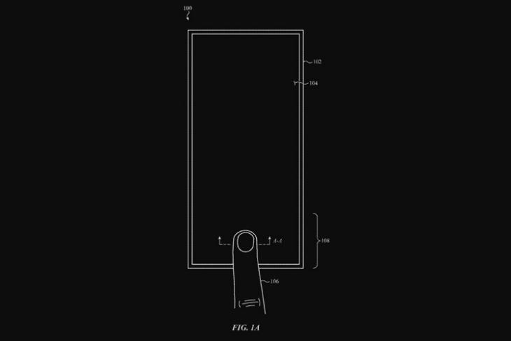 Apple in-display fingerprint scanner website