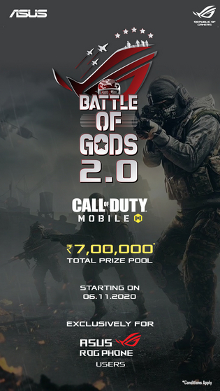 Asus India Announces 'Battle of Gods' Season 2 for ROG Phone Users