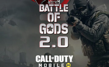 Asus ROG - Battle of Gods 2 - Callof Duty Mobile website