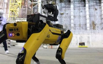 Boston dynamics robot to chernobyl feat.