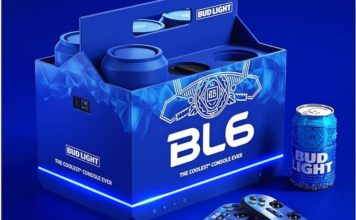 Bud light bl6 gaming console feat.