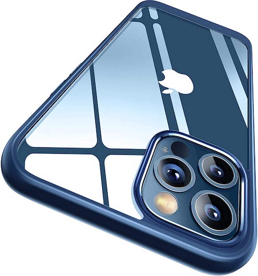 CASEKOO Crystal Clear Designed for iPhone 12 Case, Designed for iPhone 12 Pro Case