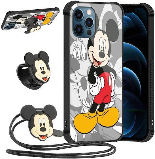 DISNEY COLLECTION Cute Mickey Case for iPhone 12 PRO MAX
