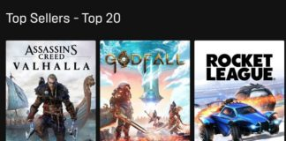 Epic Games store showing INR feat.