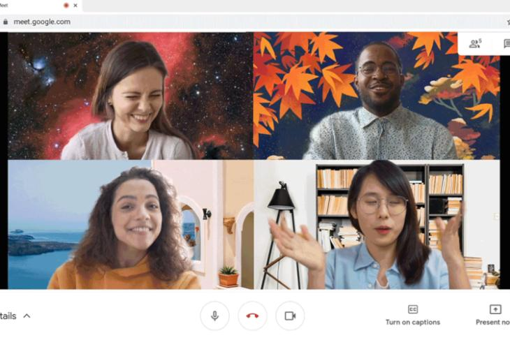How to Use Custom Backgrounds on Google Meet