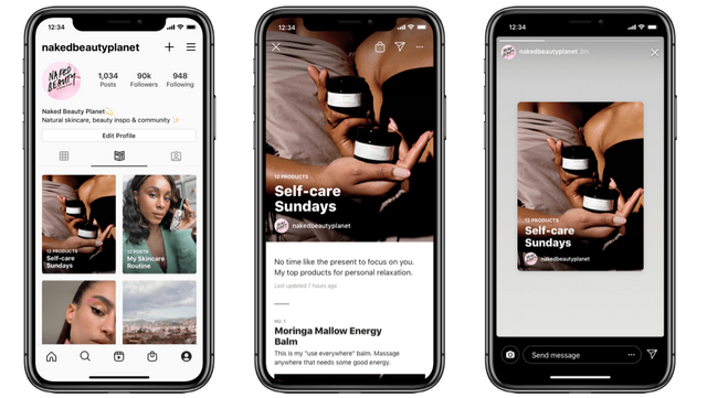 Instagram Enables Keyword Search; Expands 'Guides' to All Users