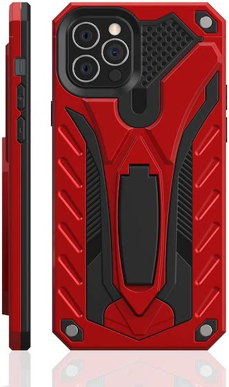 Kitoo Designed for iPhone 12 Pro Max Case with Kickstand