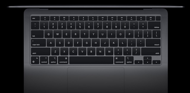 MacBook Air M1 - Keyboard