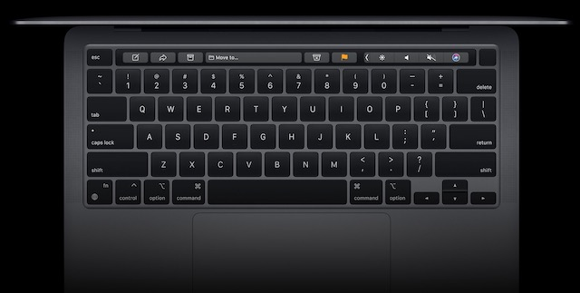 MacBook Pro M1 - Keyboard