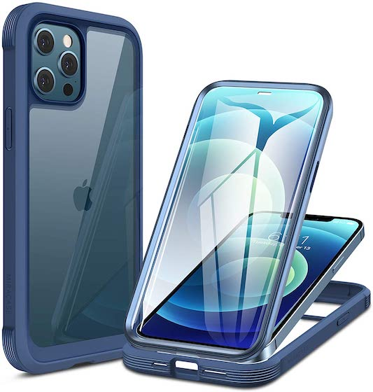 Miracase Glass+ Case for iPhone 12: iPhone 12 Pro 6.1 inch