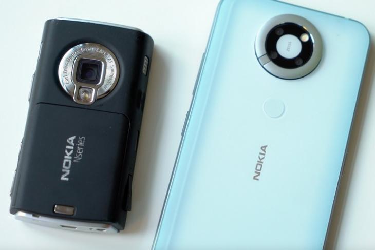Nokia's unreleased modern N95 feat.