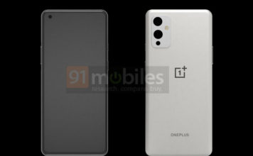OnePlus 9 Render Reveals Flat Display and Triple Rear Cameras