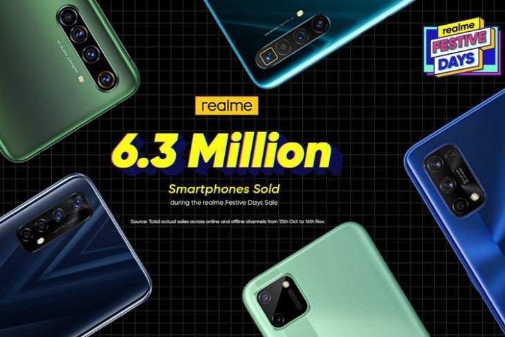 Realme Festive sales 2020 website