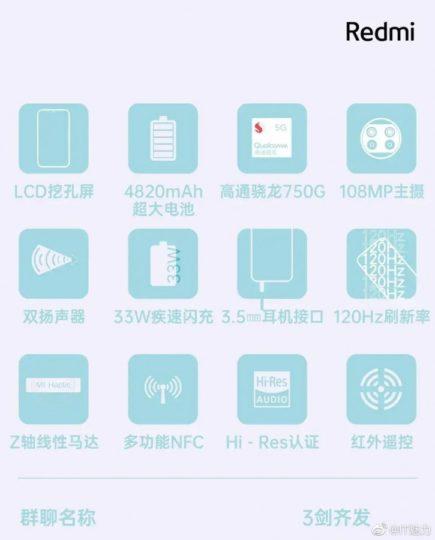 Redmi Note 9 Pro 5G specs