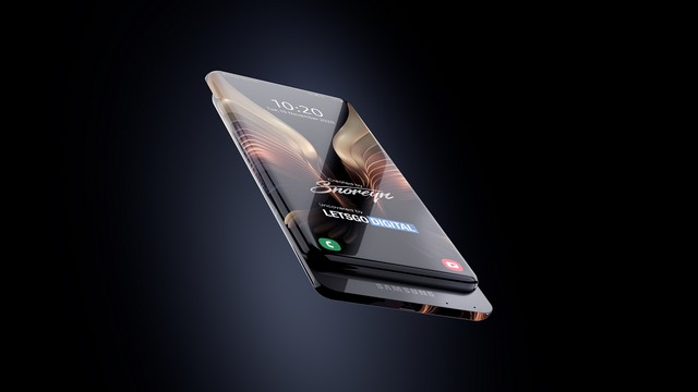Samsung device with 100% screen to body ratio 1