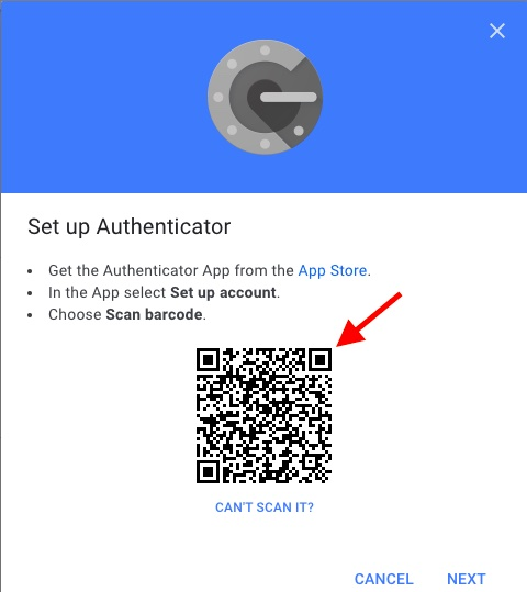 Scan barcode on Google's website