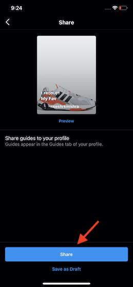 Share Insta Guide
