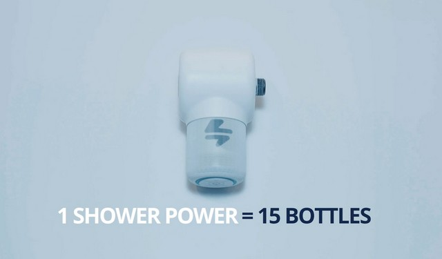 Shower power water powered bt speaker 2