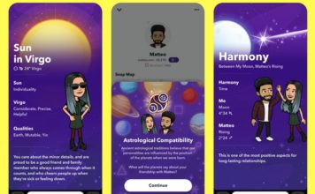 Snapchat Adds Astrological Profiles in Latest Update