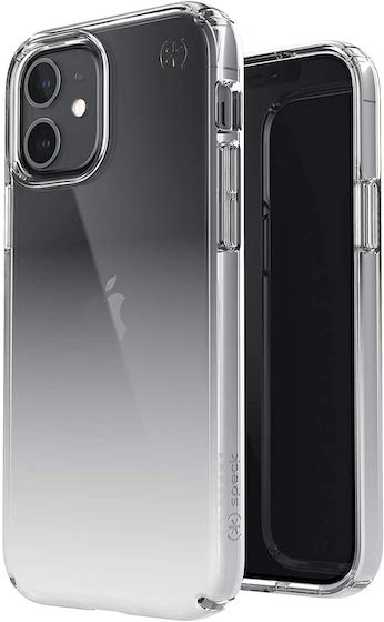 Speck Products Presidio Perfect-Clear Ombre iPhone 12, iPhone 12 Pro Case