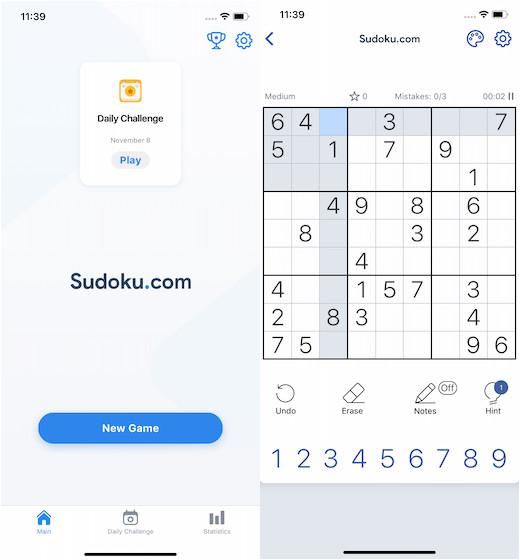 Судоку игра-головоломка
