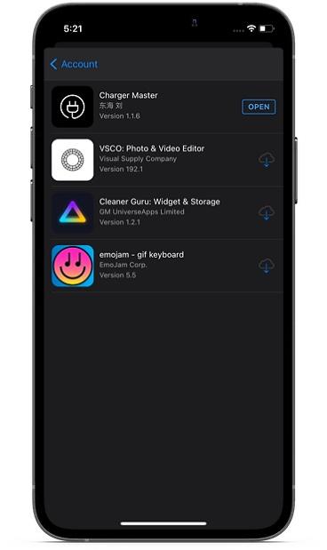 Mostrar aplicaciones en la App Store