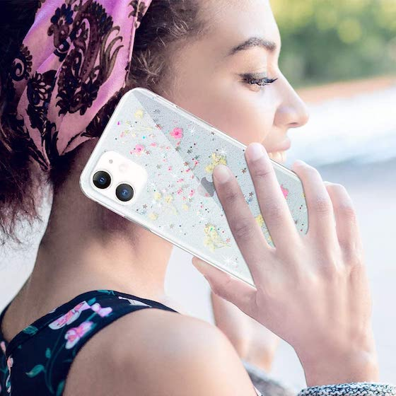 VePret Compatible with iPhone 12 Mini Case Clear