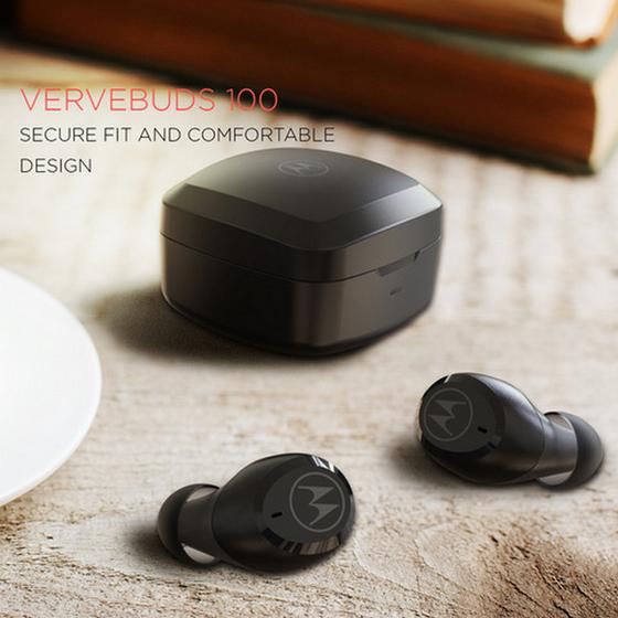 Motorola Verve-Series Earphones, TWS Earbuds Launched in India