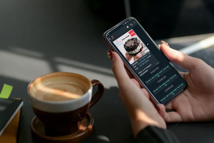 WA shopping button website
