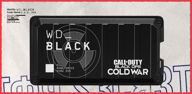 WD COD themed hard drive 1