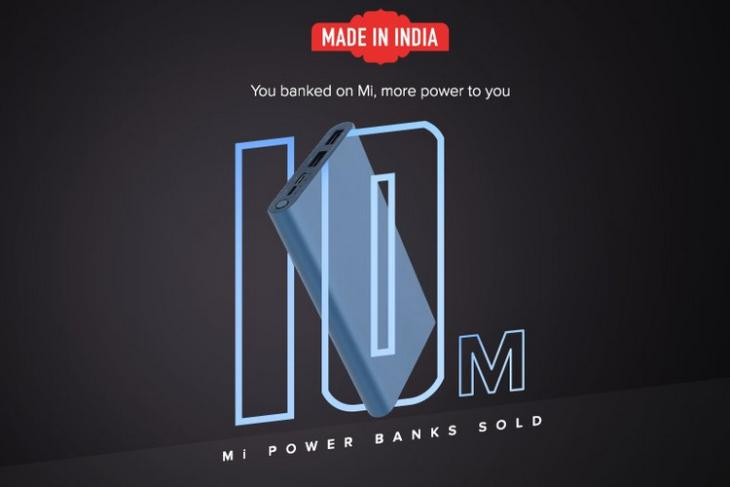 Xiaomi Power Bank 10 million website