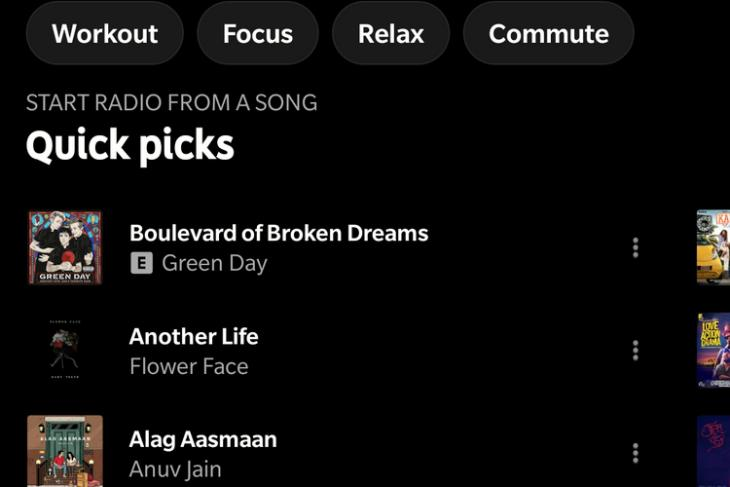 YouTube Music Adds a 'Quick Picks' Section on Android, iOS, and Web