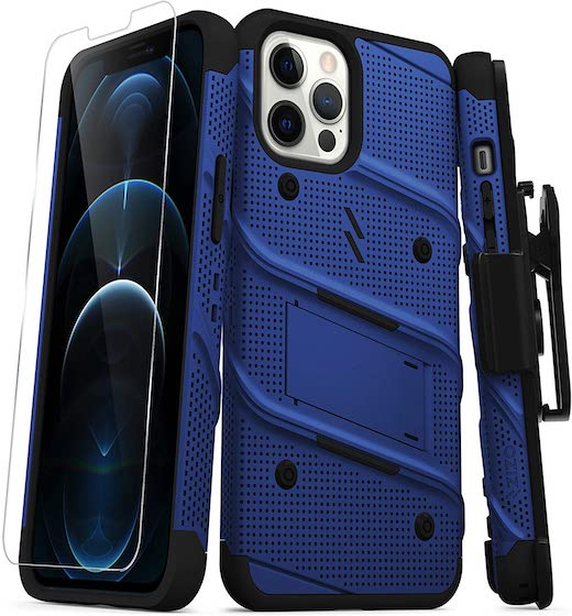 ZIZO Bolt Series for iPhone 12 Pro Max Case