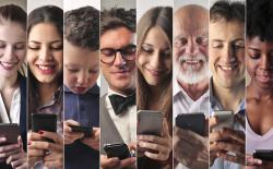 avg human spends 9 years on smartphones feat.