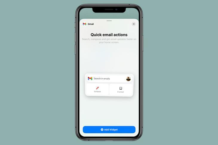 gmail widget ios 14 featured