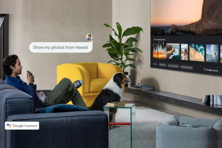google assistant - samsung TV