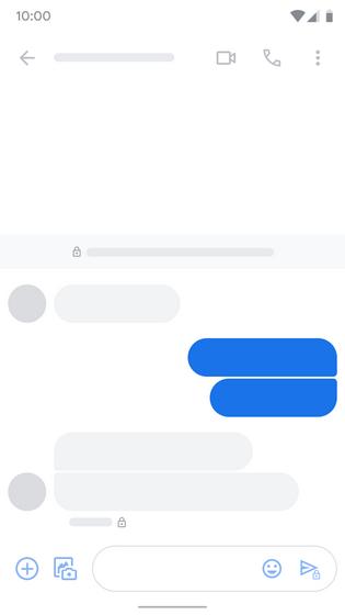 google messages e2e indicator