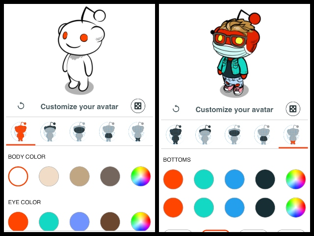 how to create reddit avatar ss