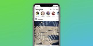 instagram new home screen