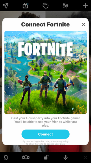 link-houseparty-to-fortnite