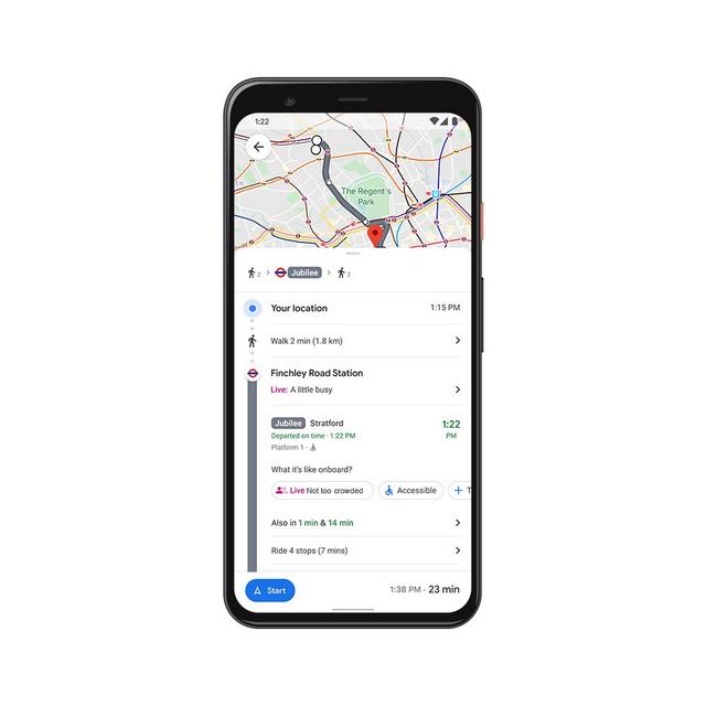 maps live transit