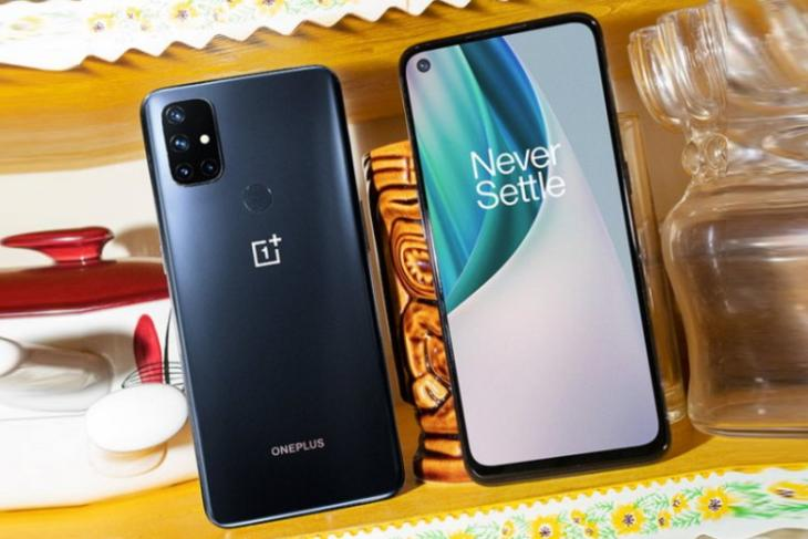 oneplus nord n10 5G - one android update