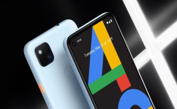 pixel 4a barely blue color launched
