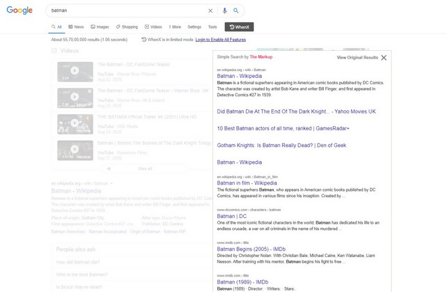 simple search chrome extension 3