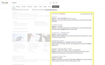 simple search chrome extension feat.