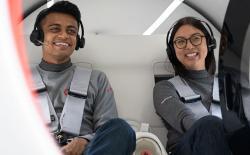 virgin hyperloop one first passenger test run